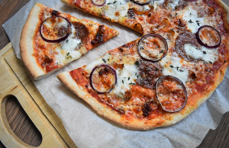 Wild Boar Chorizo, Guanciale and Nduja Sausage Pizza 3