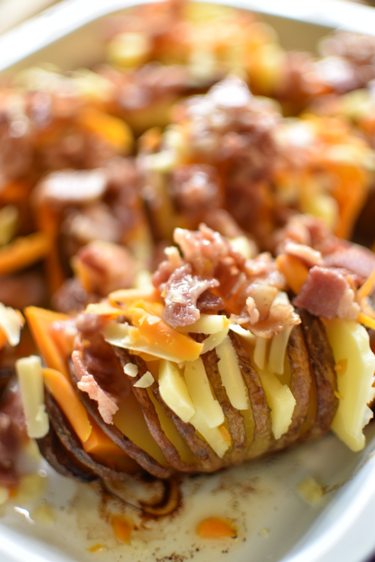 Cheese and Bacon Hasselback Potato 5