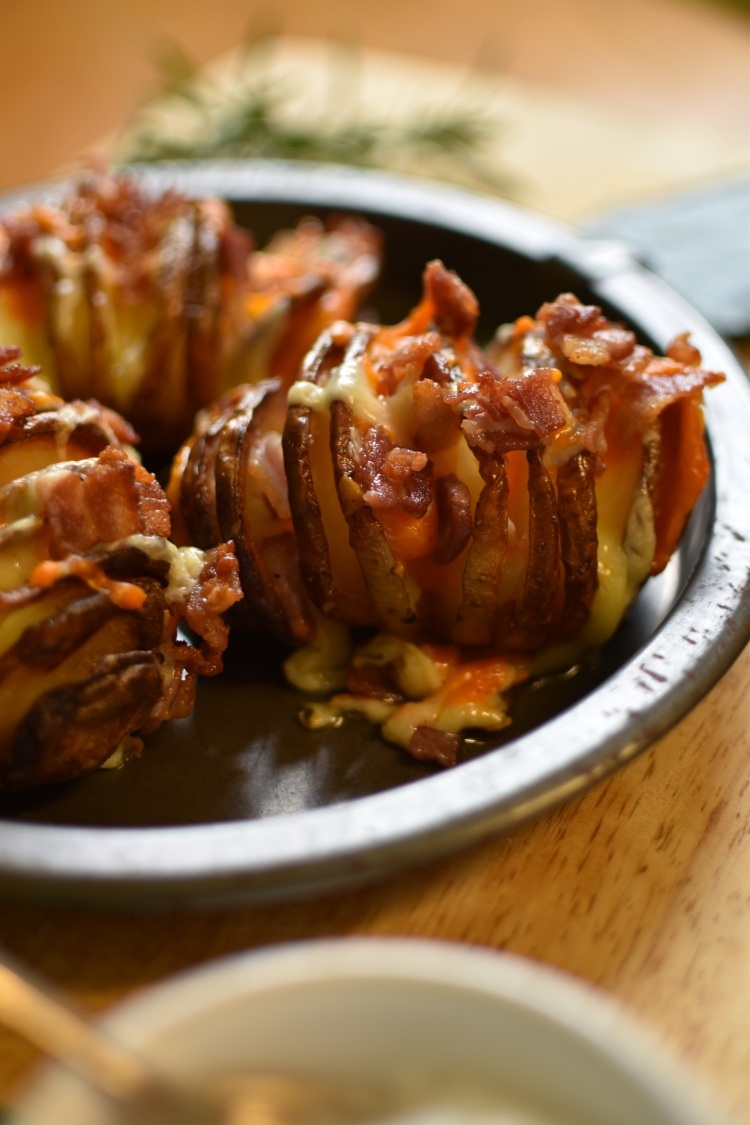 Cheese and Bacon Hasselback Potato 8