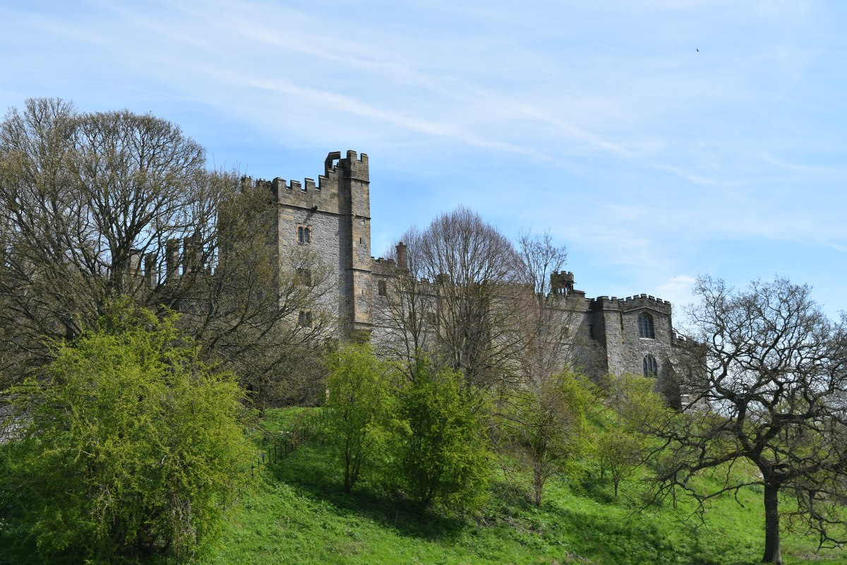 A Spring Morning At The Enchanting Haddon Hall