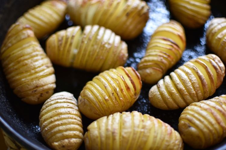 Hasselback Potatoes 1