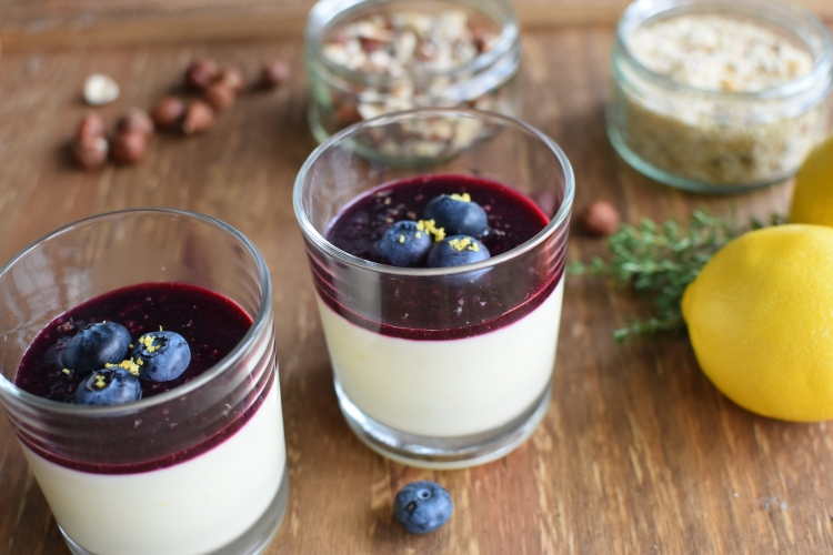 Blueberry & Lemon Posset 5
