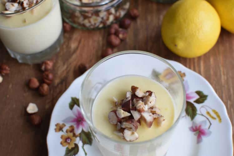 Lemon and Hazelnut Posset 7