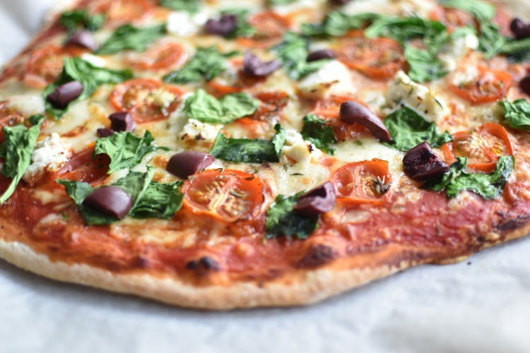 Spinach And Ricotta Pizza 2