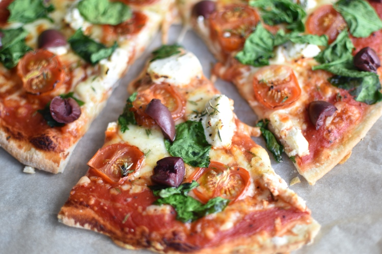 Spinach And Ricotta Pizza 3