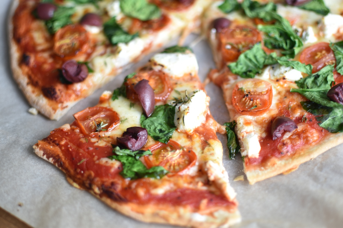 Spinach And Ricotta Pizza – What Stacy Did
