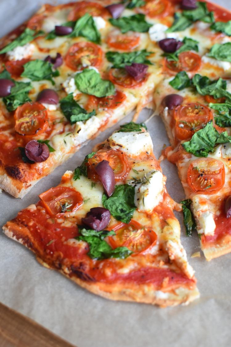 Spinach And Ricotta Pizza 5