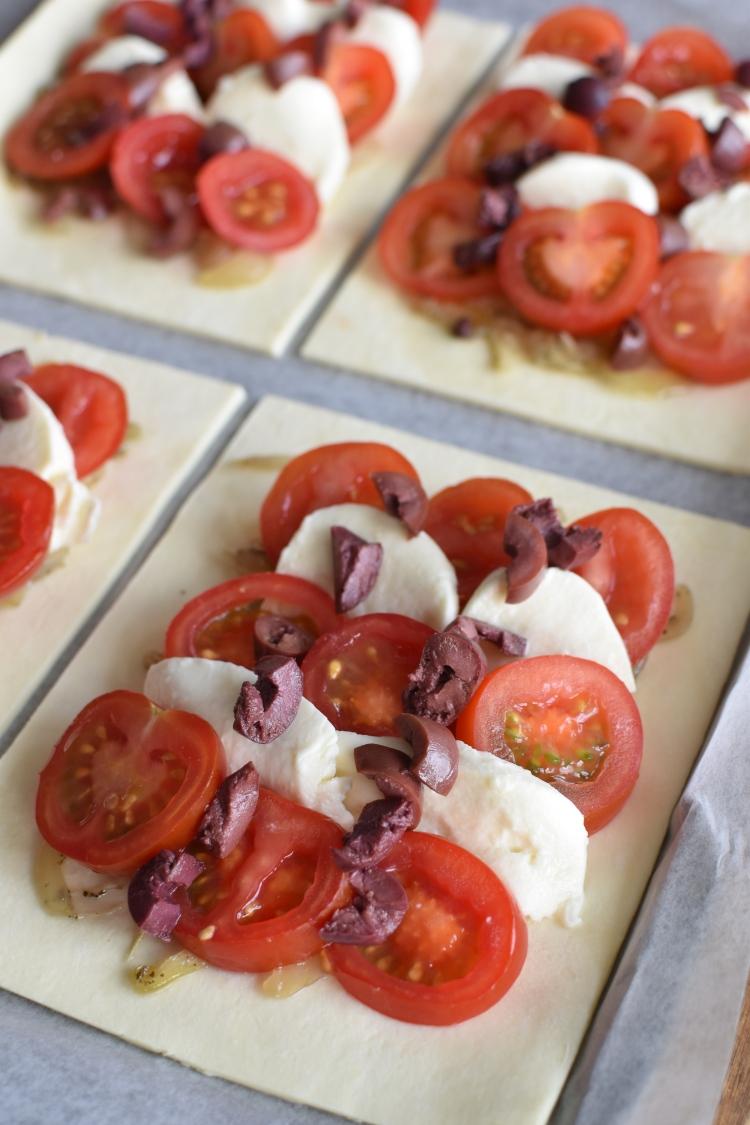 Tomato and Basil Tart 10