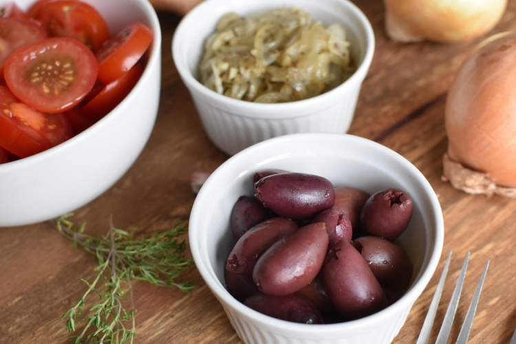 Tomato and Basil Tart 8